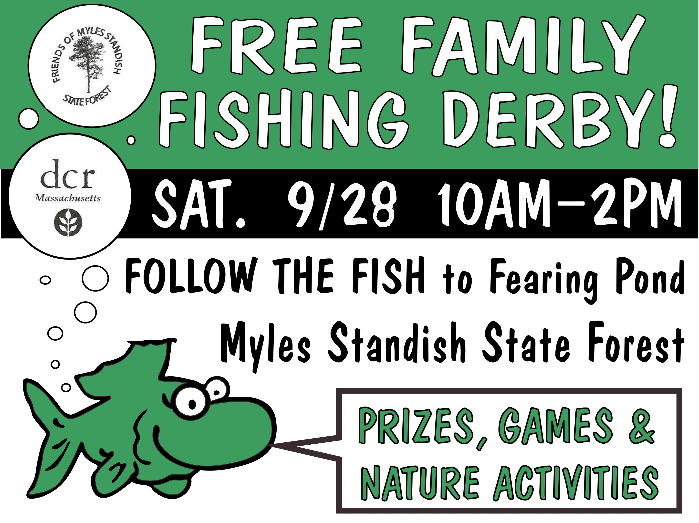 fishing derby poster